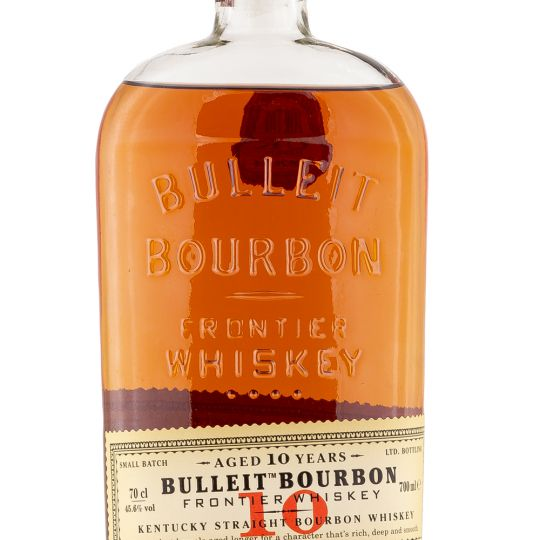 Personalised Bulleit 10 Year 70cl Engraved Bourbon engraved bottle