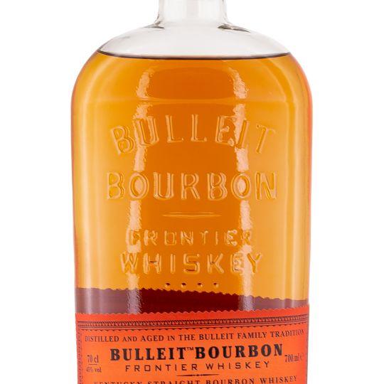 Personalised Bulleit Bourbon engraved bottle