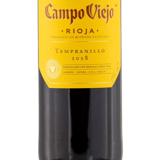 Personalised Campo Viejo Rioja Tempranillo Red Wine 75cl engraved bottle
