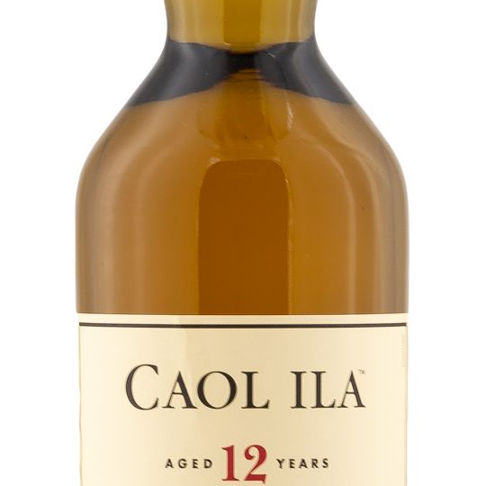 Personalised Caol Ila 12 Year Old Islay 70cl Engraved Single Malt Whisky engraved bottle