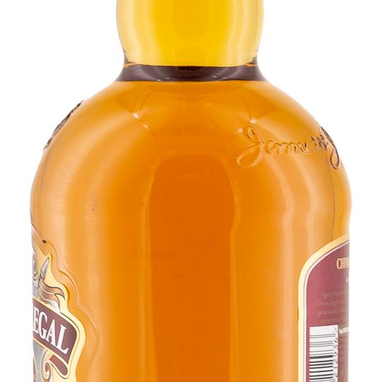 Personalised Chivas Regal 12 Year Old Blended Whisky 70cl engraved bottle