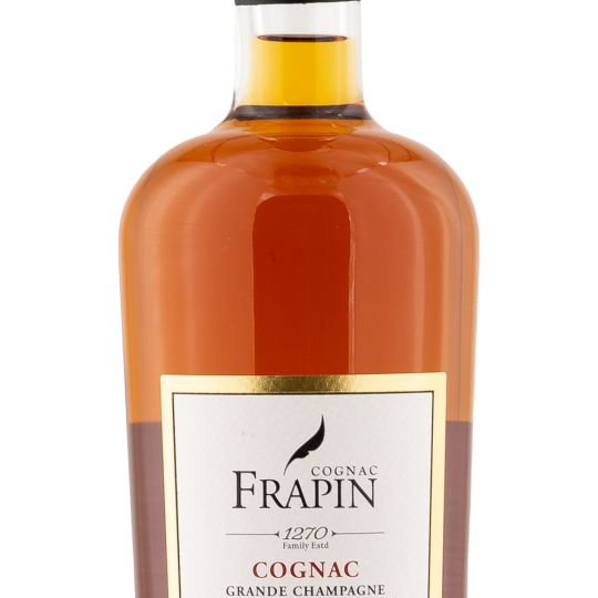 Personalised Cognac Frapin 1270 Grande Champagne 70cl Engraved Cognac engraved bottle