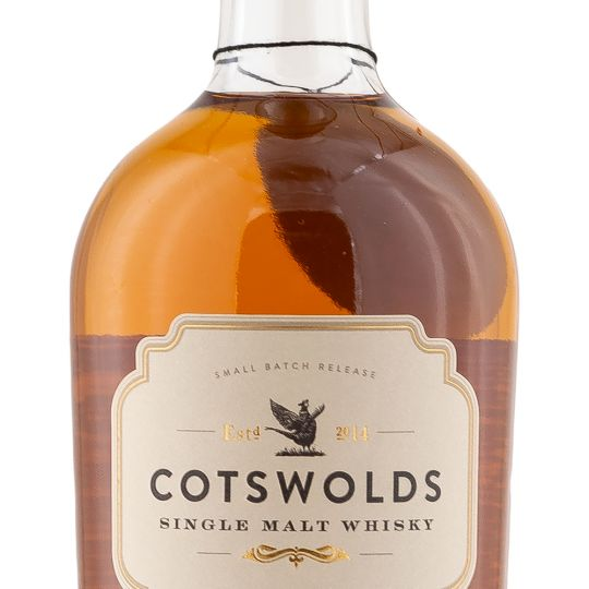 Personalised Cotswolds Distillery Single Malt 70cl Engraved Single Malt Whisky engraved bottle