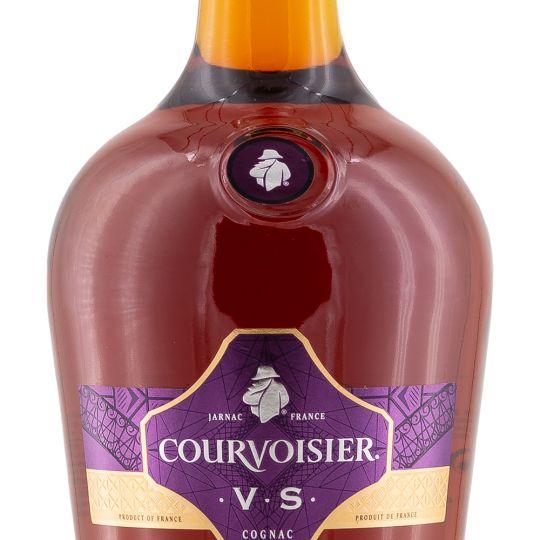 Personalised Courvoisier VS Cognac 100cl engraved bottle