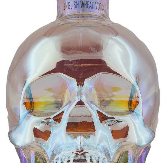 Personalised Crystal Head Aurora 70cl Engraved Plain Vodka engraved bottle