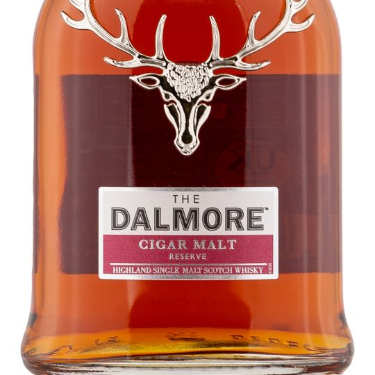 Personalised Dalmore Cigar Malt 70cl Engraved Single Malt Whisky engraved bottle