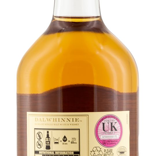 Personalised Dalwhinnie Distillers Edition Whisky 70cl engraved bottle