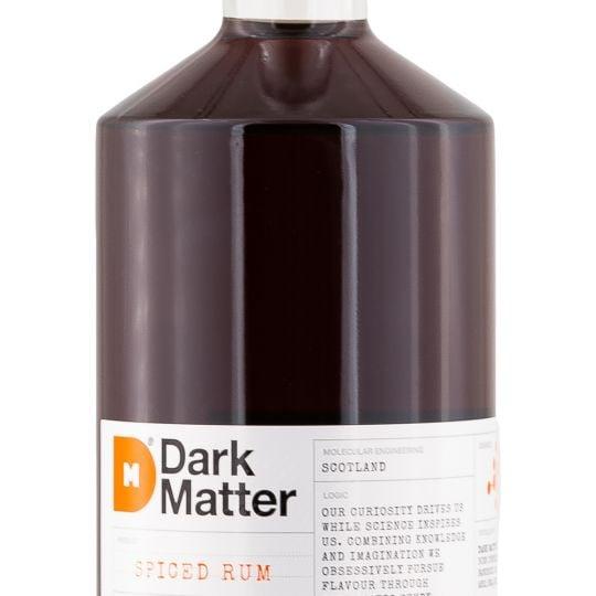 Personalised Dark Matter Spiced Rum 70cl engraved bottle