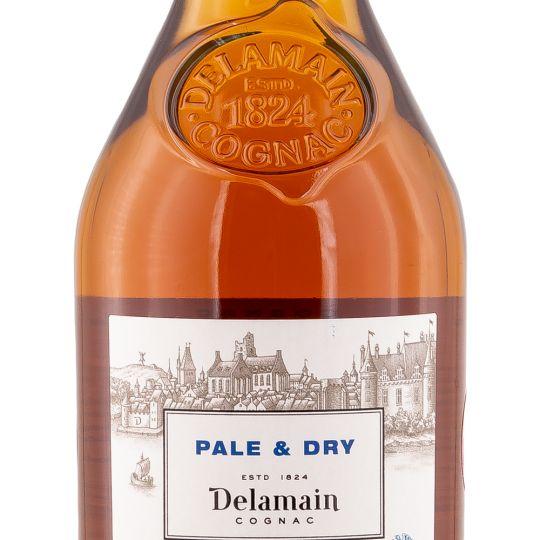 Personalised Delamain Pale & Dry XO Cognac 70cl engraved bottle