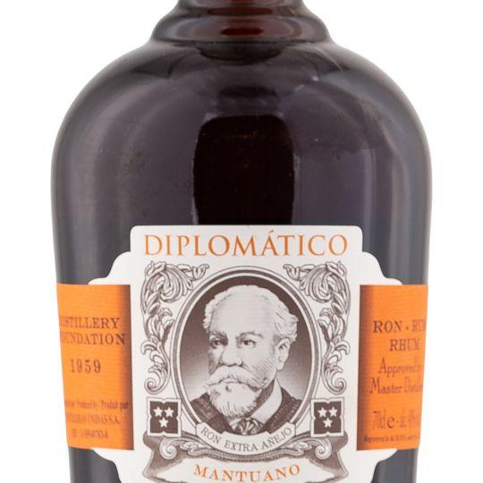 Personalised Diplomtico Mantuano 70cl Engraved Dark Rum engraved bottle