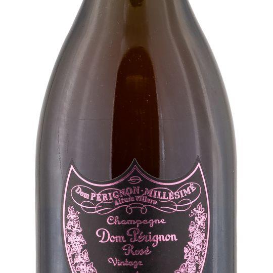 Personalised Dom Perignon Vintage Rose Champagne 75cl engraved bottle
