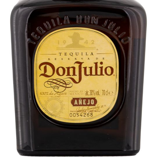 Personalised Don Julio Anejo Tequila 70cl Engraved Anejo Tequila engraved bottle