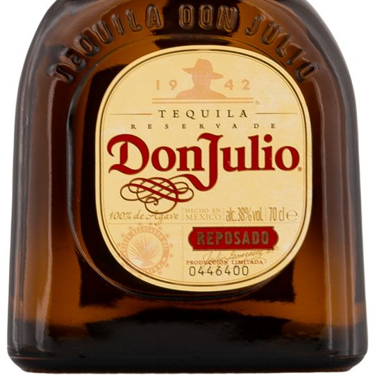 Personalised Don Julio Reposado Tequila 70cl Engraved Reposado Tequila engraved bottle