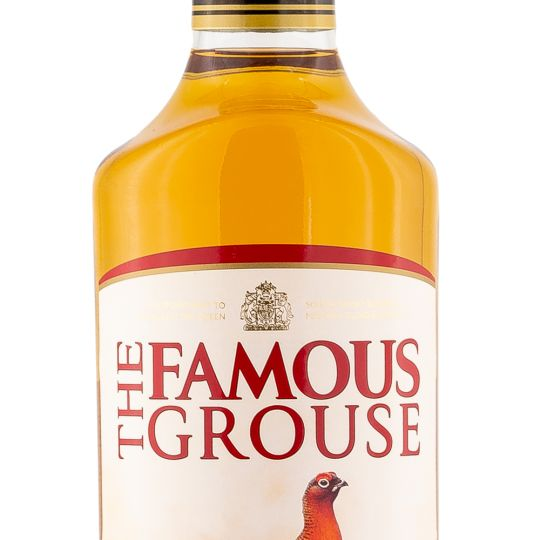 Personalised Famous Grouse Engraved Whisky 70cl engraved bottle