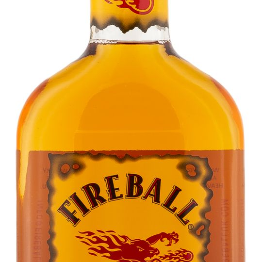 Personalised Fireball Cinnamon Liqueur 50cl engraved bottle