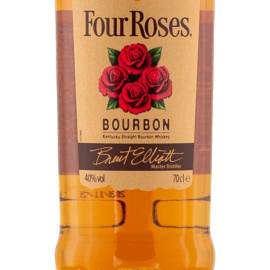 Personalised Four Roses Bourbon 70cl Engraved Bourbon engraved bottle