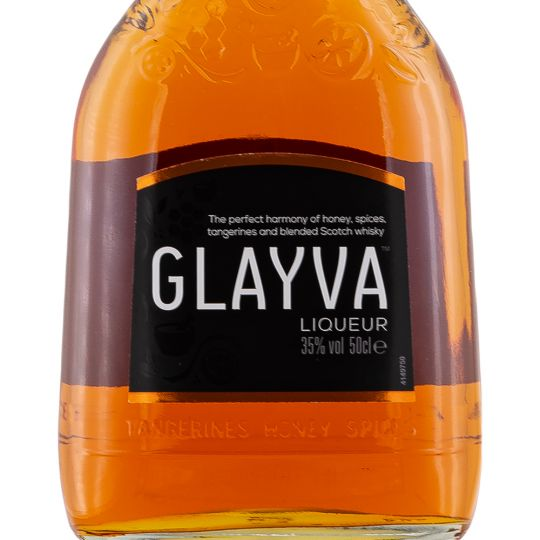 Personalised Glayva Liqueur 50cl engraved bottle