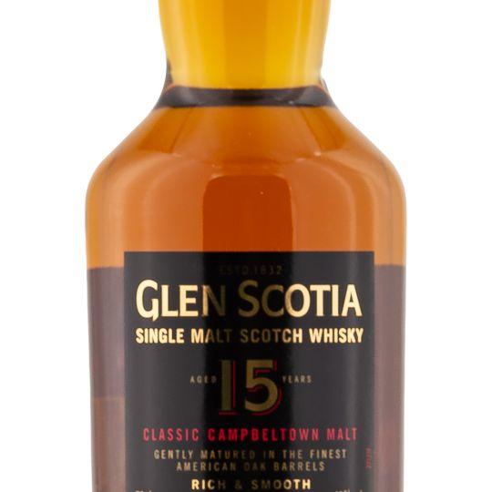 Personalised Glen Scotia 15 Year Single Malt 70cl Engraved Single Malt Whisky engraved bottle
