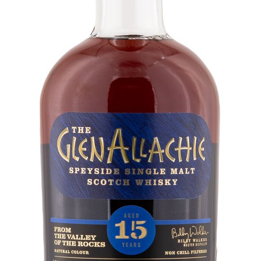 Personalised Glenallachie 15 Year Sherry Cask 70cl Engraved Single Malt Whisky engraved bottle