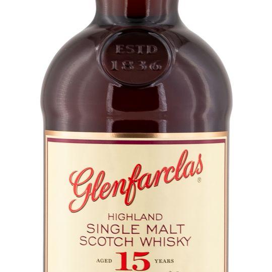 Personalised Glenfarclas 15 Year Old 70cl Engraved Single Malt Whisky engraved bottle