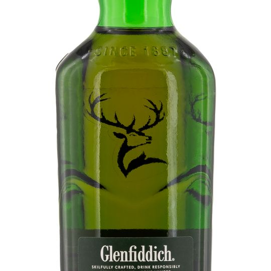 Personalised Glenfiddich 12 Year Old Whisky 70cl engraved bottle