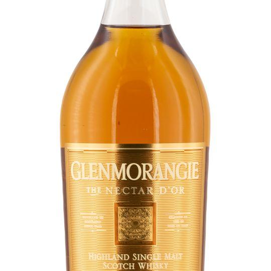 Personalised Glenmorangie Nectar D'Or Whisky 70cl engraved bottle
