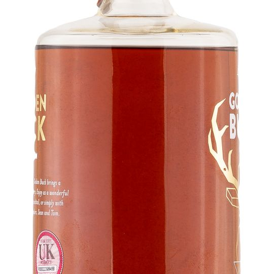 Personalised Golden buck 1962 70cl Engraved Dark Rum engraved bottle