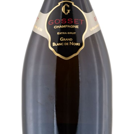Personalised Gosset Grand Blanc De Noirs 75cl Engraved Non-Vintage Champagne engraved bottle