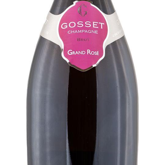 Personalised Gosset Grand Rose Brut 75cl Engraved Non-Vintage Champagne engraved bottle
