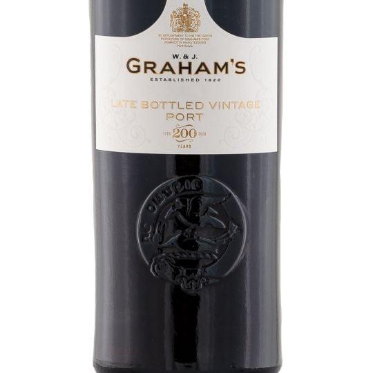 Personalised Graham's Late Bottled Vintage Port 75cl engraved bottle