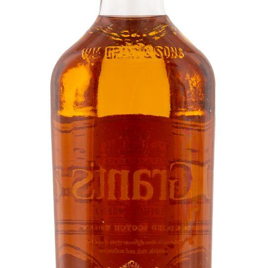 Personalised Grants Triple Wood engraved bottle