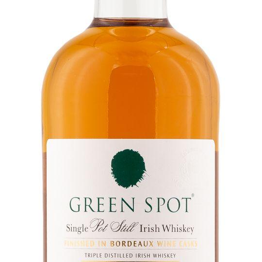 Personalised Green Spot Leoville Barton Bordeaux Finish 70cl Engraved Whisky engraved bottle