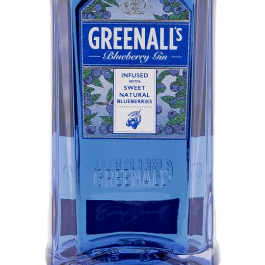 Personalised Greenalls Blueberry Gin 70cl Engraved Flavoured Gin engraved bottle
