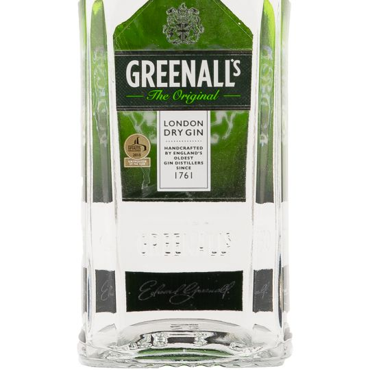 Personalised Greenalls London Dry Gin 70cl engraved bottle