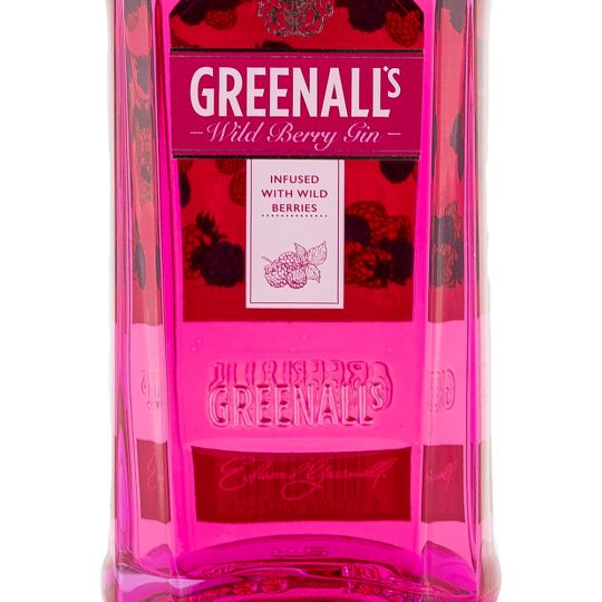 Personalised Greenall's Wild Berry Gin 70cl engraved bottle