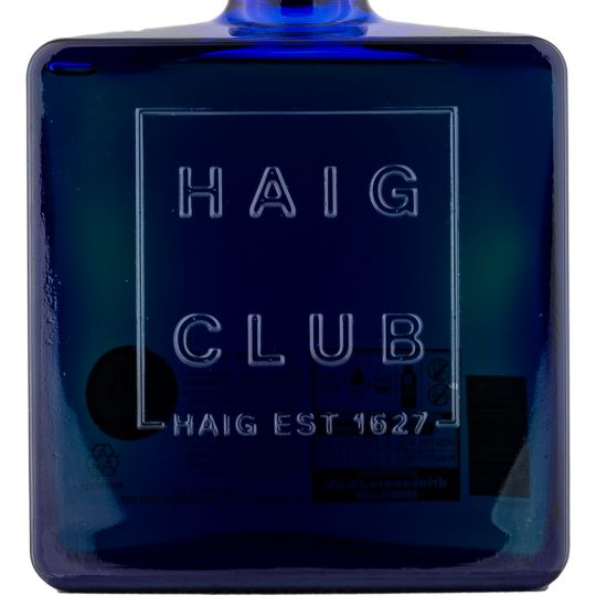 Personalised Haig Club Whisky 70cl engraved bottle