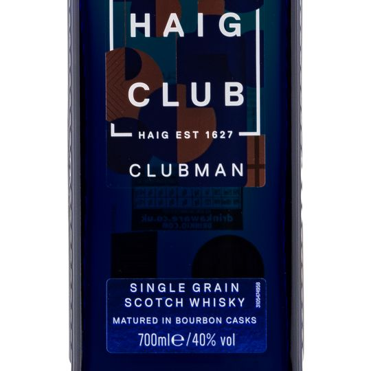 Personalised Haig Clubman Scotch Whisky 70cl engraved bottle