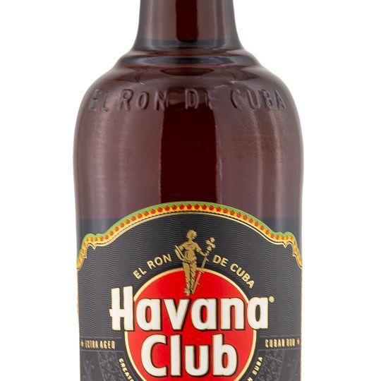 Personalised Havana Club 7 Year Old Rum 70cl engraved bottle