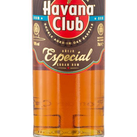 Personalised Havana Club Anejo Especial Rum 70cl engraved bottle