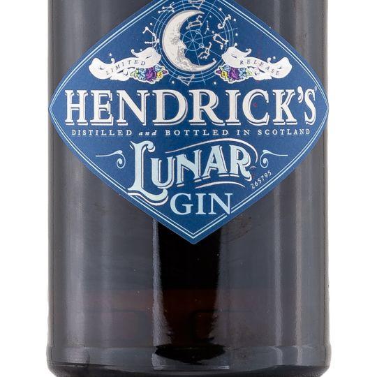 Personalised Hendricks Lunar Gin 70cl Engraved Gin engraved bottle
