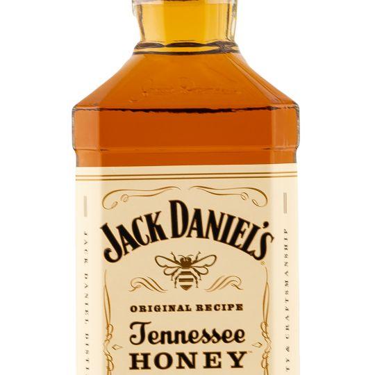 Personalised Jack Daniels Honey 1 Litre engraved bottle