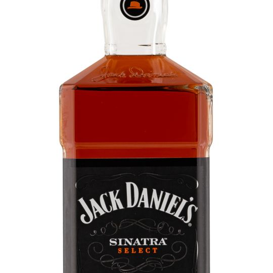 Personalised Jack Daniels Sinatra Select 100cl Engraved Tennessee Whiskey engraved bottle