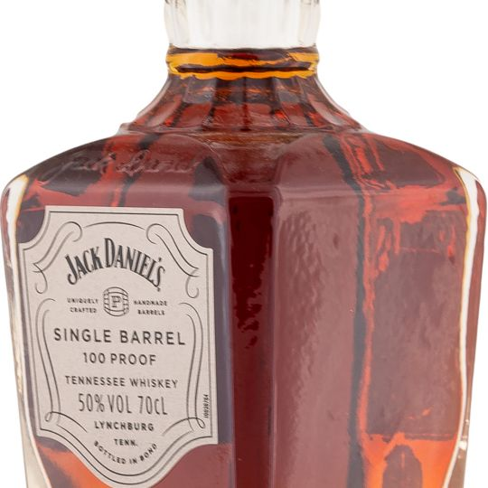 Personalised Jack Daniels Single Barrel 100% Proof 70cl engraved bottle