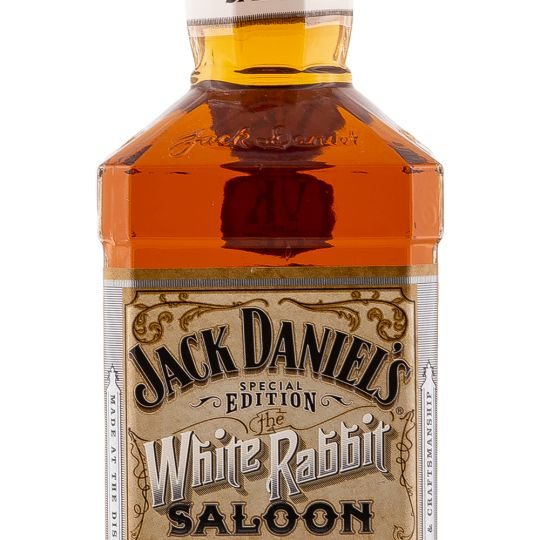 Personalised Jack Daniels White Rabbit 70cl Engraved Tennessee Whiskey engraved bottle