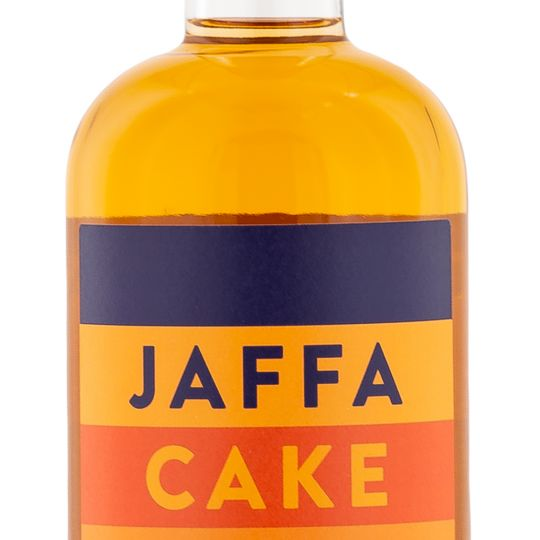 Personalised Jaffa Cake Gin 70cl Engraved Flavoured Gin engraved bottle