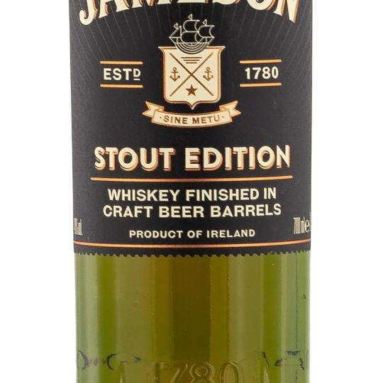 Personalised Jameson Caskmates Stout Edition engraved bottle