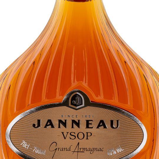 Personalised Janneau VSOP Brandy 70cl engraved bottle