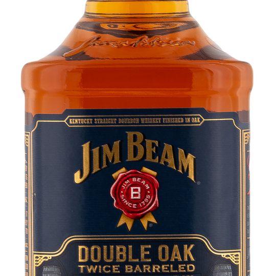 Personalised Jim Beam Double Oak engraved bottle