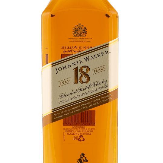 Personalised Johnnie Walker Platinum 18 Year Old Whisky 70cl engraved bottle