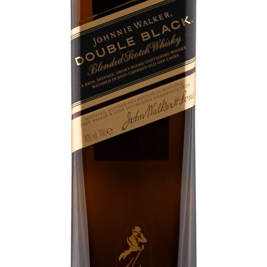 Personalised Johnnie Walker Double Black Whisky 70cl engraved bottle